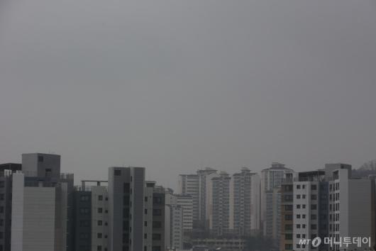 [사진]6일째 미세먼지 습격
