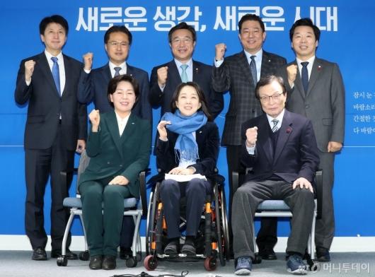 [사진]민주당 인재영입 1호 파이팅