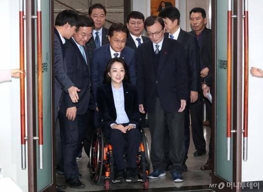 [사진]민주당 총선 인재영입식