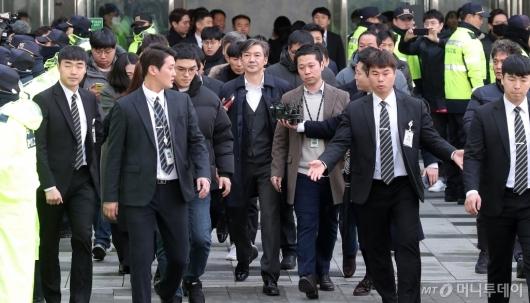 [사진]구속 기로에 선 조국 전 법무부 장관