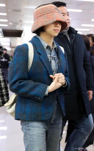 [사진]채영 '여전한 패션센스'