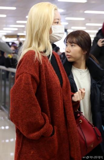 [사진]다현 '차분한 입국'