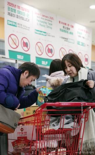 [사진]'박스 대신 가방에 담아요'