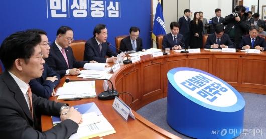 [사진]새해 첫 고위당정협의 발언하는 이낙연 총리