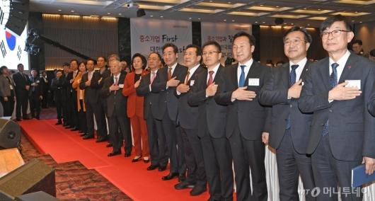 [사진]중소기업인 신년인사회 참석한 주요 인사들