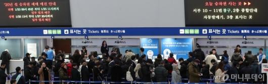 [사진]'2020년 설 승차권 예매 시작'