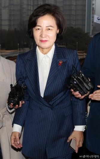 [사진]검찰 총장 면담 앞둔 추미애