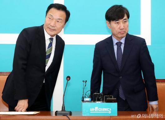 [사진]하태경 책임대표, 손학규 대표 예방
