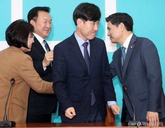 [사진]손학규 예방 마친 하태경