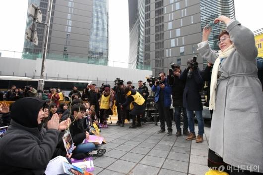 [사진]28주년 맞은 수요시위