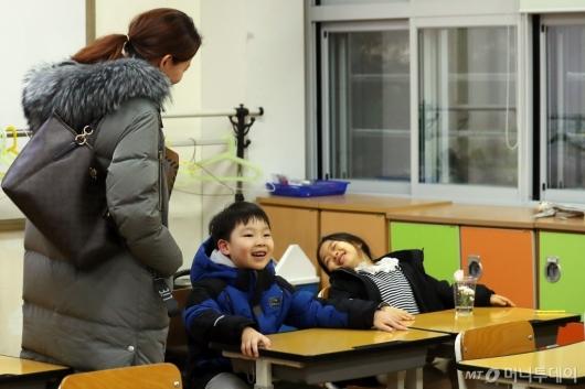 [사진]설레는 첫 학교 방문