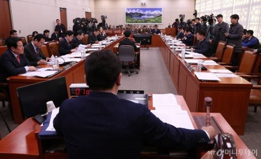 [사진]국회 외통위 전체회의