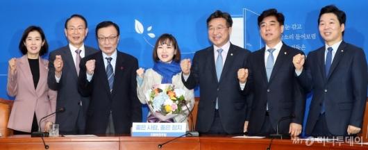[사진]민주당 인재영입 6호 발표