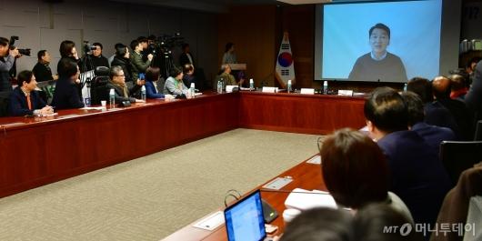 [사진]안철수 전 대표의 영상 메시지