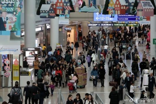 [사진]인천공항, 개항 이후 연간 이용객 7천만명 돌파