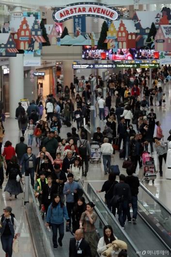[사진]인천공항 지난해 이용객…2001년 개항 이후 최다
