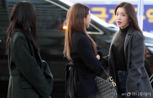 [사진]아이린 '입김나오는거 보여?'