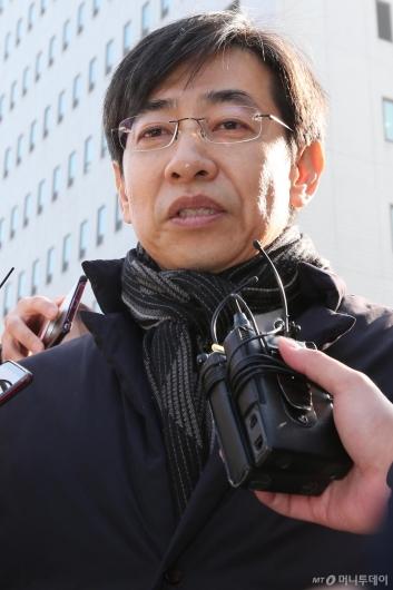 [사진]김성준 전 앵커 '혐의 인정, 참회하며 살 것'