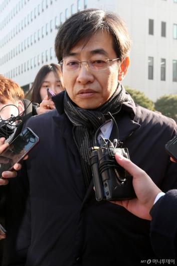 [사진]김성준 전 앵커 '묵묵부답'
