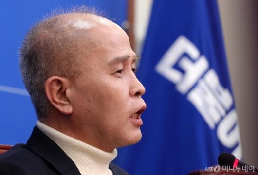 [사진]민주당 영입 7호 카카오뱅크 이용우 대표
