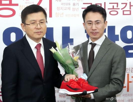 [사진]한국당 영입인사 3호 극지탐험가 남영호