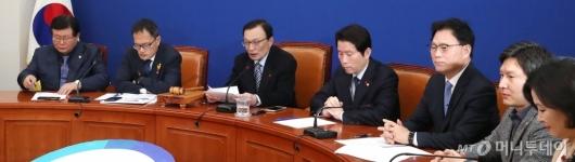 [사진]최고위원회의 주재하는 이해찬