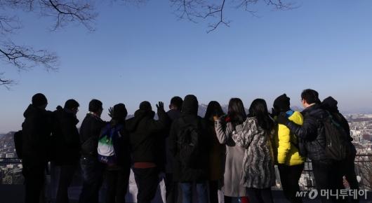 [사진]'반가운 파란하늘'