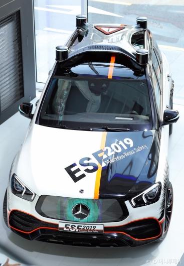 [사진]벤츠의 자율주행 안전실험 차량 'ESF 2019'