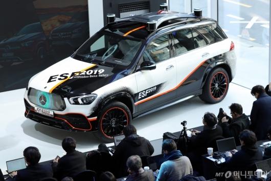 [사진]자율주행 안전실험 차량 벤츠 'ESF 2019'