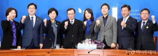 [사진]민주당 영입인재 8호 파이팅