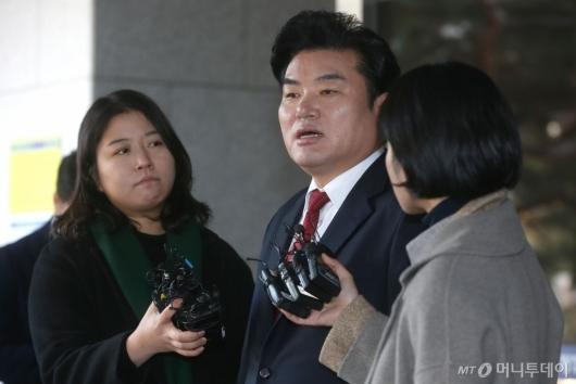 [사진]원유철 의원, 1심서 징역 10월 선고...확정땐 의원직 상실