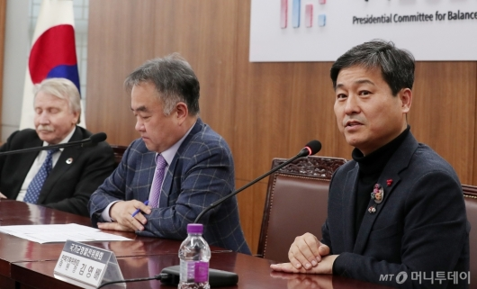 [사진]김영배 전략기획위원장 '도시혁신을 위해'