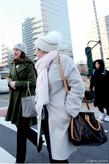 [사진]'한국, 너무 추워요'