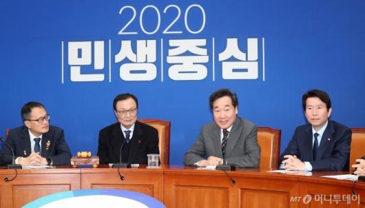 [사진]당 복귀 소감 전하는 이낙연 전 총리