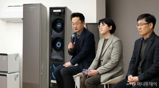[사진]삼성전자, 2020년형 무풍에어컨·무풍큐브 출시 간담회