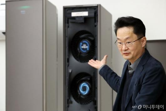 [사진]삼성전자, 더 쉽게 관리 가능한 무풍에어컨 공개