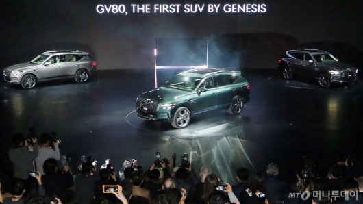 [사진]공개된 제네시스 SUV 'GV80'