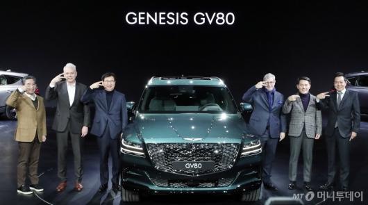 [사진]제네시스 첫 SUV 'GV80' 공개!