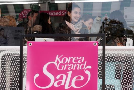 [사진]외국인 대상 '2020 코리아그랜드세일' 개막