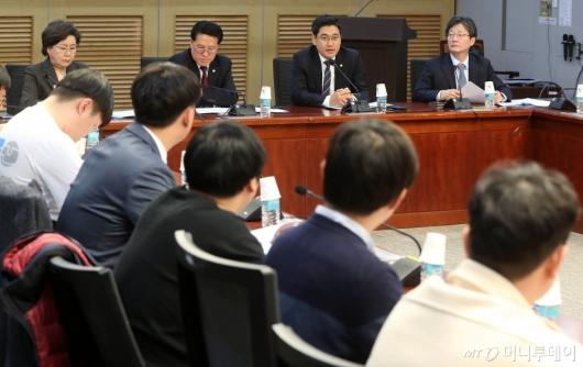 [사진]새보수당 청년 당대표 선발을 위한 면접 및 심사