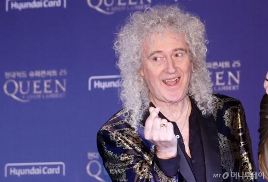 [사진]브라이언 메이의 '퀸-하트'