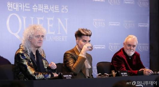 [사진]한국 관객들과 만남 앞둔 퀸(QUEEN)