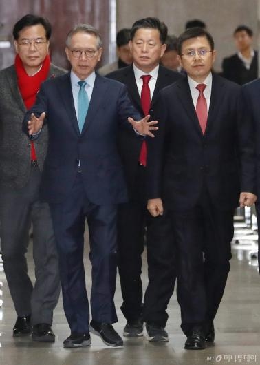 [사진]황교안-김형오 첫 회동