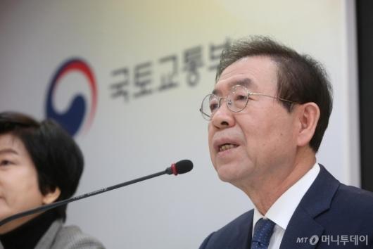 [사진]박원순 시장 '영등포, 공공임대주택을 늘릴 것'