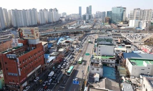 [사진]'360여명 거주' 영등포 쪽방촌 공공주택사업으로 정비