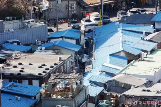 [사진]주거환경 개선 계획 발표된 영등포 쪽방촌 일대