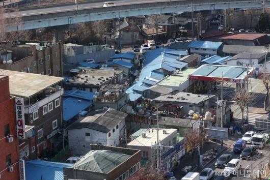 [사진]주거환경 개선 계획 발표된 영등포 쪽방촌