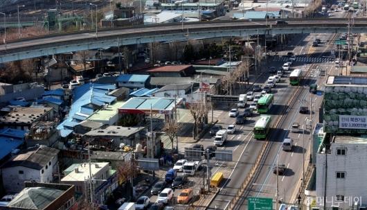 [사진]주거환경개선 계획 발표된 영등포 쪽방촌