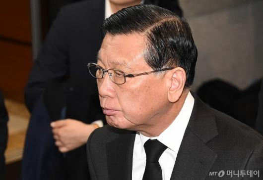 [사진]故 신격호 명예회장 빈소 찾은 박삼구