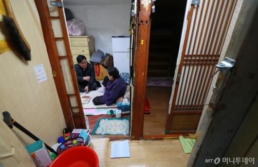[사진]설 앞두고 취약계층 찾은 서울시